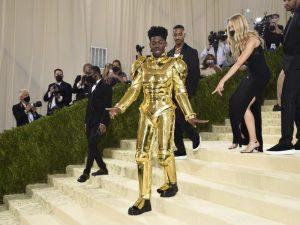 Lil Nas X bei der diesjährigen Met-Gala. Foto: Evan Agostini/Invision via AP/dpa