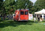 Im Berliner Regierungsviertel befinden sich mehrere Klimaaktivisten seit Tagen in einem Hungerstreik. Nun musste einer von ihnen per Notarzt ins Krankenhaus gebracht werden. Foto: Paul Zinken/dpa