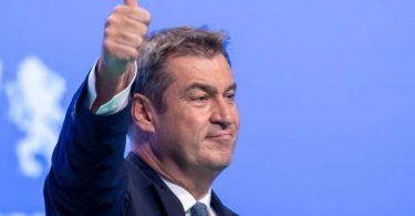 CSU-Chef Markus Söder sieht vor der Bundestagstagswahl eine Trendwende zugunsten der Union. Foto: Daniel Karmann/dpa