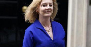 Liz Truss ist die neue Außenministerin von Großbritannien. Foto: Alberto Pezzali/AP/dpa