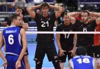 Die deutschen Volleyballer verloren gegen Italien. Foto: Ožana Jaroslav/CTK/dpa