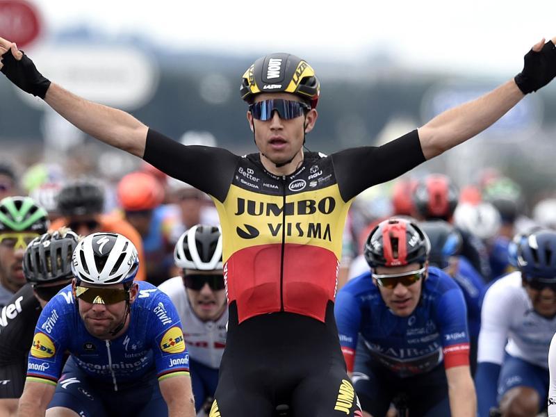 Der Alleskönner Radsport-Szene: Wout van Aert. Foto: Ian Rutherford/PA Wire/dpa