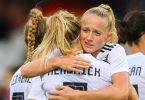 Die DFB-Frauen besiegten Bulgarien in der WM-Qualifikation mit 7:0. Foto: Robert Michael/dpa-Zentralbild/dpa