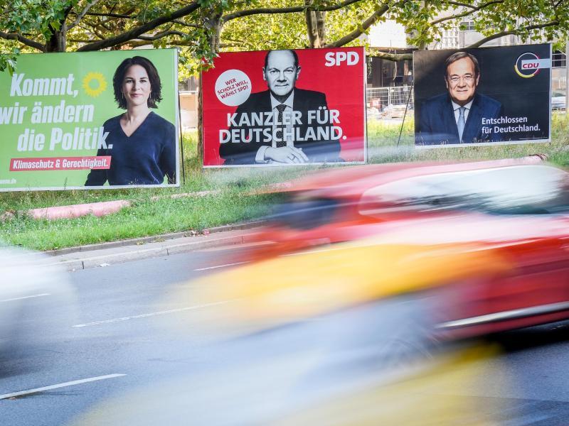 Nicht mal mehr eine Woche: Am 26. September wird ein neuer Bundestag gewählt - und letztlich ein neuer Kanzler oder eine neue Kanzlerin bestimmt. Foto: Kay Nietfeld/dpa