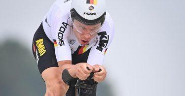 Strebt bei der Straßenrad-WM im Zeitfahr-Mixed eine Medaille an: Tony Martin. Foto: David Stockman/BELGA/dpa