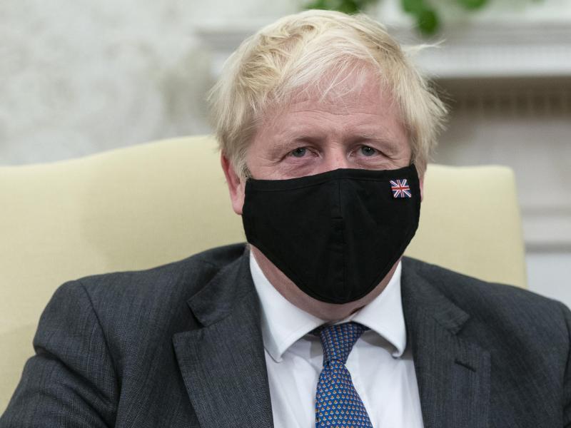 Boris Johnson, Premierminister von Großbritannien. Foto: Alex Brandon/AP/dpa