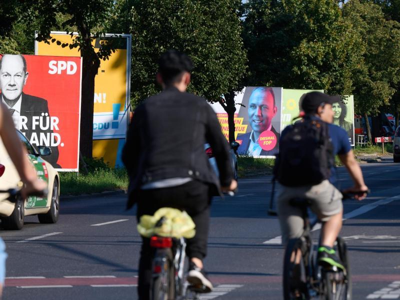 Am 26. September findet in Berlin neben der Bundestagswahl auch die Wahl für das Abgeordnetenhaus statt. Foto: Annette Riedl/dpa