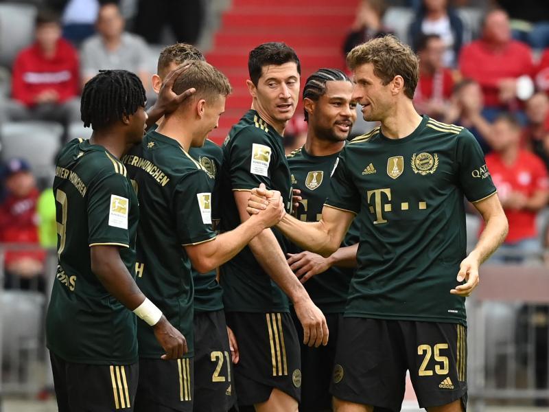 Am vergangenen Wochenende waren die Bayern gegen Bochum siebenmal erfolgreich. Foto: Sven Hoppe/dpa