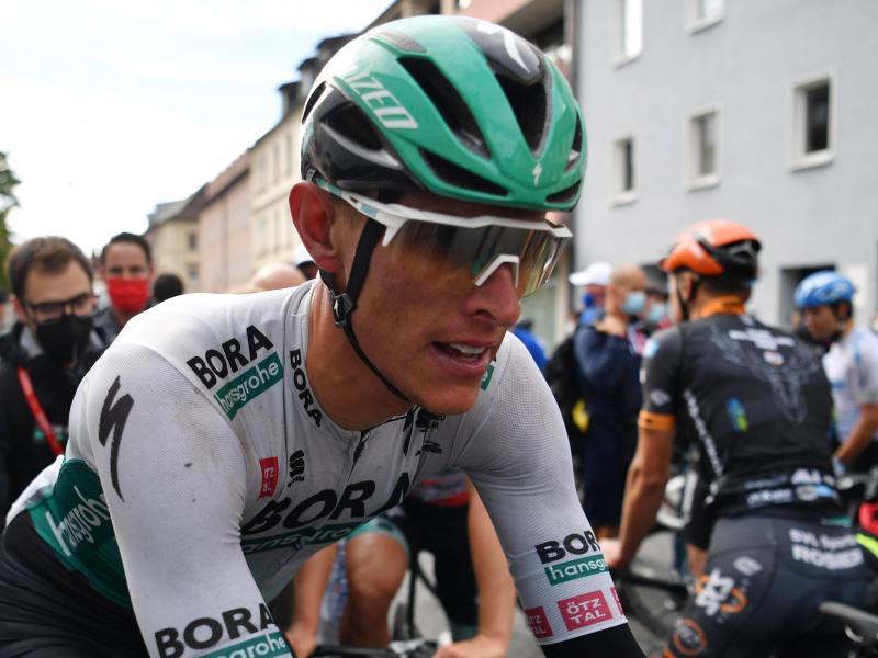 Bora-Profi Nils Politt ist beim WM-Straßenrennen als deutscher Kapitän eingeplant. Foto: Bernd Thissen/dpa