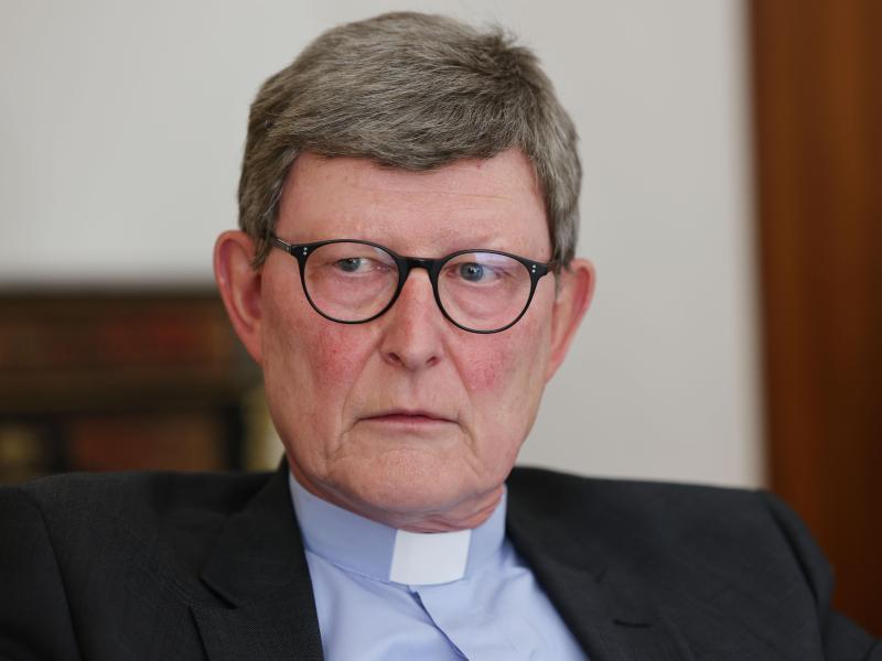 Papst Franziskus hat entschieden: Kardinal Rainer Maria Woelki, Erzbischof von Köln, bleibt im Amt. Foto: Oliver Berg/dpa
