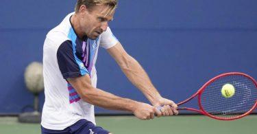 Peter Gojowczyk hat sich in Metz bis ins Halbfinale gekämpft. Foto: Frank Franklin II/AP/dpa/Archiv