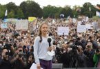 Steht in Berlin im Fokus: die schwedische Klimaaktivistin Greta Thunberg. Foto: Jörg Carstensen/dpa
