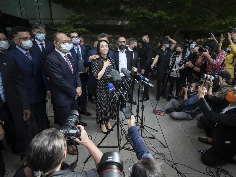 Nach einer Vereinbarung mit den US-Behörden kann Meng Wanzhou nach China zurückkehren. Foto: Darryl Dyck/The Canadian Press/dpa