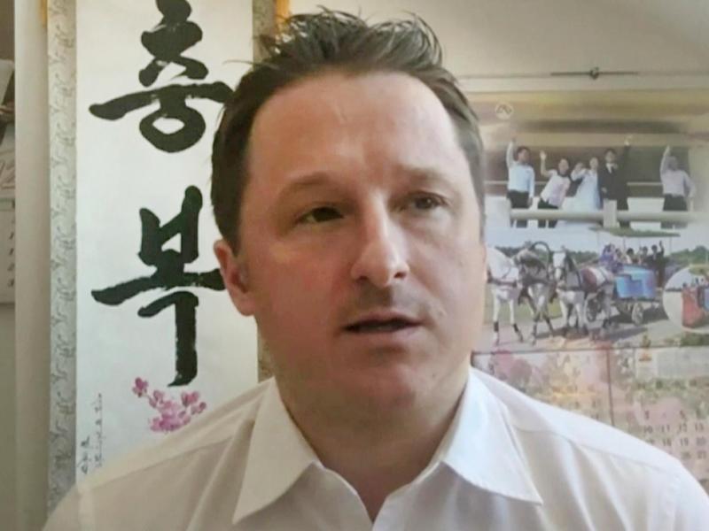 Michael Spavor wurde 2018 in China festgenommen. Jetzt kommt er frei. Foto: Uncredited/AP/dpa