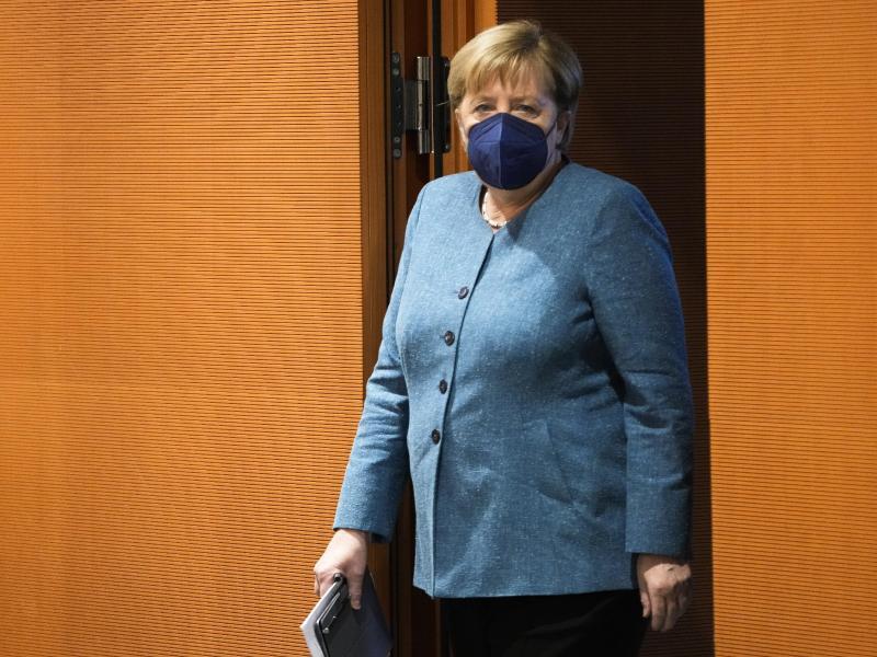 Noch-Kanzlerin Angela Merkel zieht sich nach 16 Jahren aus der Politik zurück. Foto: Markus Schreiber/Pool AP/dpa
