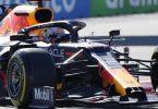 Hat bei der Qualifikation nur den Wagen getestet: Max Verstappen. Foto: Sergei Grits/AP/dpa