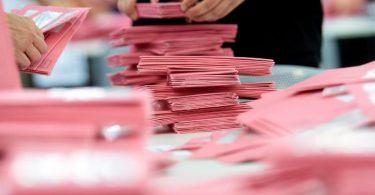 Die Bundeswahlleitung geht von mindestens 40 Prozent Briefwahlstimmen aus. Foto: Sven Hoppe/dpa