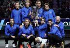 Team Europa feiert bei der vierten Auflage des Laver Cups den vierten Erfolg. Foto: Elise Amendola/AP/dpa