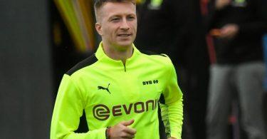 Steht gegen Sporting Lissabon in den BVB-Startelf: Kapitän Marco Reus. Foto: Bernd Thissen/dpa