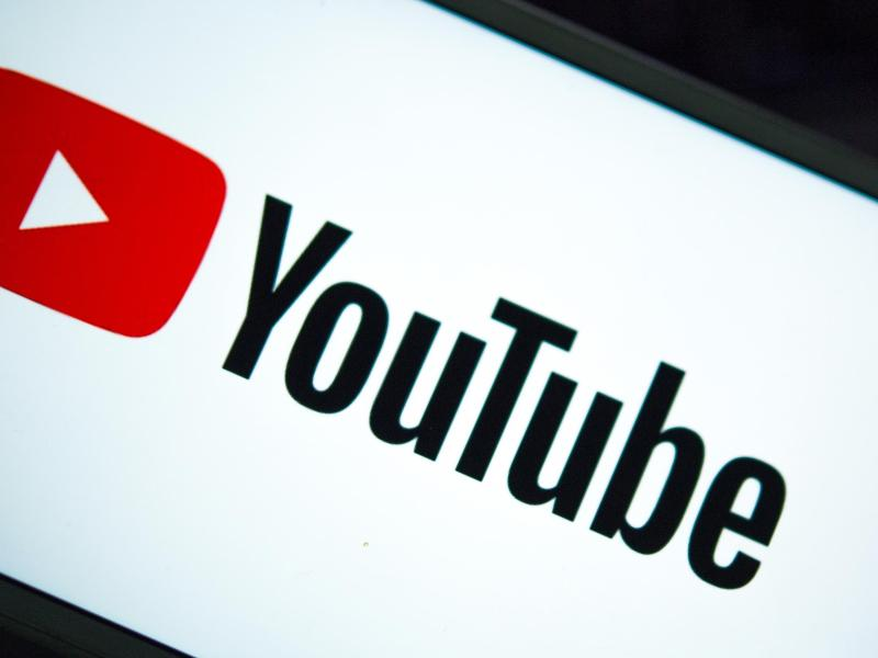 Das Logo der Internet-Videoplattform Youtube. (Archivbild). Foto: Monika Skolimowska/dpa-Zentralbild/dpa
