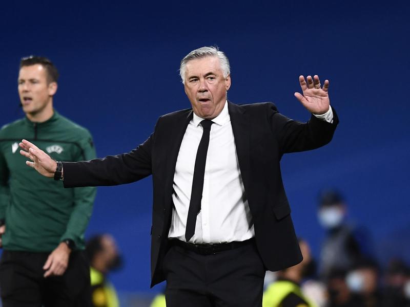 Real-Trainer Carlo Ancelotti war bedient. Foto: Jose Breton/AP/dpa