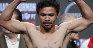 Der philippinische Boxer Manny Pacquiao hört mit dem Profisport auf. Foto: John Locher/AP/dpa
