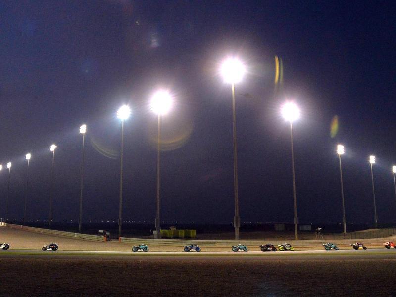 Bisher fuhren Motorräder in Katar, für die Formel 1 wird es eine Premiere. Foto: -/EPA/dpa