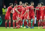 Union Berlin feierte gegen Maccabi Haifa einen souveränen Heimsieg. Foto: Andreas Gora/dpa