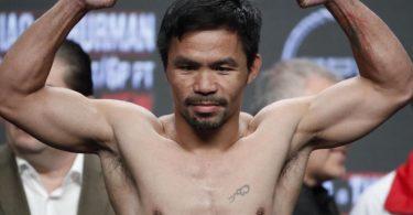 Der philippinische Ex-Box-Weltmeister Manny Pacquiao sieht seine Zukunft in der Politik. Foto: John Locher/AP/dpa