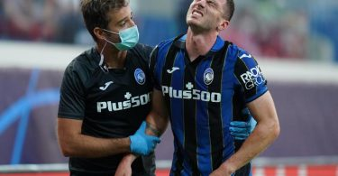 Atalanta Bergamos Robin Gosens hat sich verletzt. Foto: Spada/LaPresse via ZUMA Press/dpa