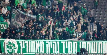 Union-Fans sollen israelische Fußball-Anhänger von Maccabi Haifa antisemitisch beleidigt haben. Foto: Andreas Gora/dpa