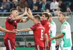 Fühlt sich beim FC Bayern wieder wohl: Niklas Süle (r). Foto: Daniel Karmann/dpa