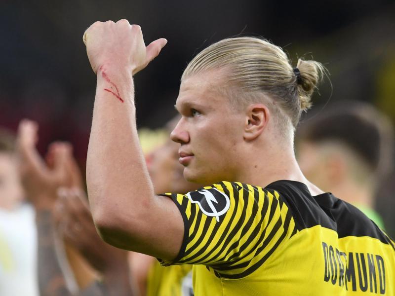 Borussia Dortmund muss weiter auf Top-Stürmer Erling Haaland verzichten. Foto: Bernd Thissen/dpa