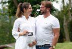 Heranwachsendes Glück: Dank einer künstlichen Befruchtung wurde Carolin Volk endlich schwanger. Foto: Henning Kaiser/dpa-tmn