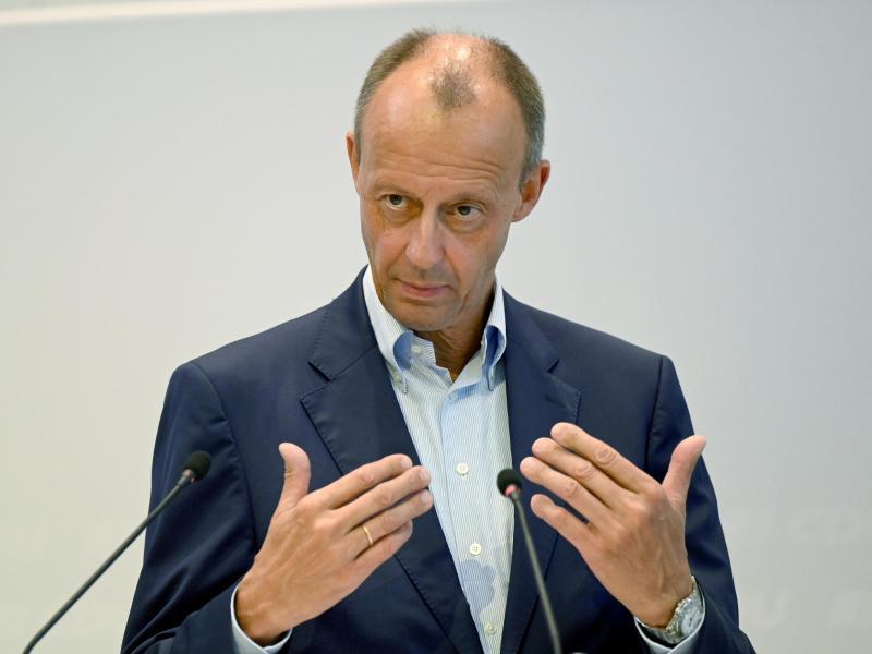 CDU-Politiker Friedrich Merz. Foto: Bernd Weißbrod/dpa