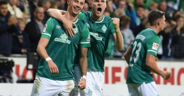 Werder Bremen feierte gegen den 1. FC Heidenheim einen souveränen Heimsieg. Foto: Carmen Jaspersen/dpa
