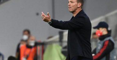 Bayern-Trainer Julian Nagelsmann muss Benjamin Pavard ersetzen. Foto: Sven Hoppe/dpa