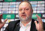 Andreas Michelmann, Präsident des Deutschen Handballbunds (DHB), spricht während einer Pressekonferenz. Foto: Marius Becker/dpa