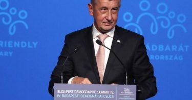 Tschechiens Ministerpräsident Andrej Babis ist von den Enthüllungen der «PandoraPapers» betroffen. Foto: Laszlo Balogh/AP/dpa/Symbolbild