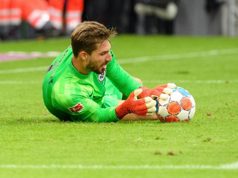 Frankfurts Torhüter Kevin Trapp spielte stark in München. Foto: Matthias Balk/dpa