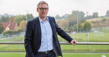 Hoffenheims Geschäftsführer Frank Briel: «Die Pandemie hat unsere gesamten Erlös-Modelle schwer getroffen.». Foto: Uwe Grün/TSG 1899 Hoffenheim/dpa