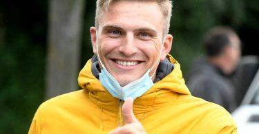 Ist sehr zufrieden als Ex-Radprofi: Marcel Kittel. Foto: Bernd Thissen/dpa