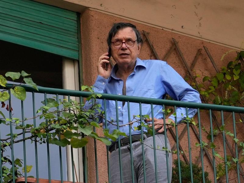 Der italienische Wissenschaftler Claudio Parisi erhält eine Hälfte des Nobelpreises. Foto: Alessandra Tarantino/AP/dpa