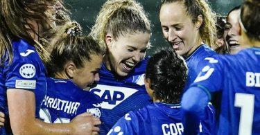 Die TSG-Frauen starteten mit einem Sieg in die Champions League. Foto: Uwe Anspach/dpa