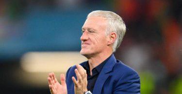 Frankreichs Trainer Didier Deschamps verspricht: «Wir wollen diesen Titel holen.». Foto: Robert Michael/dpa-Zentralbild/dpa
