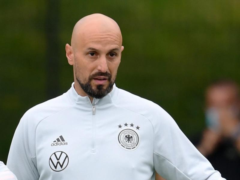 Antonio Di Salvo, neuer Trainer der deutschen U21-Fußballnationalmannschaft. Foto: Arne Dedert/dpa