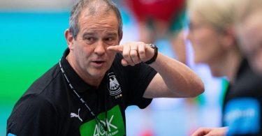Henk Groener, Bundestrainer der deutschen Handball-Nationalspielerinnen. Foto: Guido Kirchner/dpa