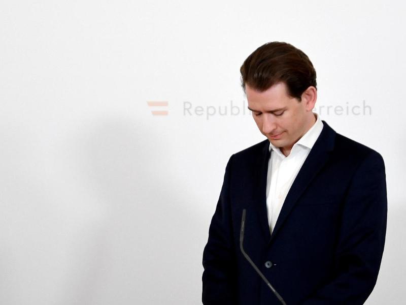 Schlittert er mit seiner ÖVP in eine Regierungskrise? Sebastian Kurz, Bundeskanzler von Österreich. Foto: Roland Schlager/APA/dpa