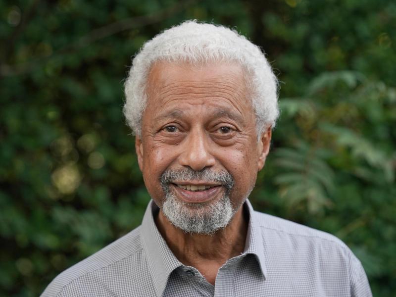 Der frisch gebackene Literaturnobelpreisträger Abdulrazak Gurnah. Foto: Steve Parsons/PA Wire/dpa