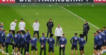 Die deutsche Fußball-Nationalmannschaft will gegen Rumänien einen Sieg einfahren. Foto: Marcus Brandt/dpa